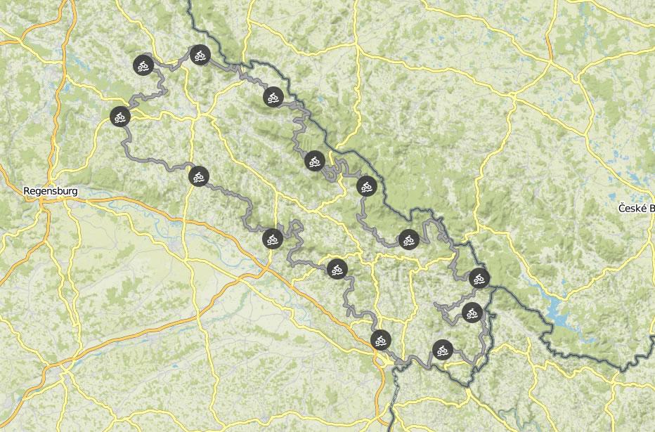 TransBayerwald Komoot