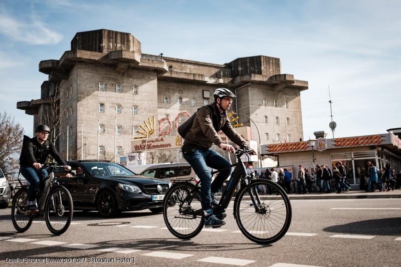 E-Bike Gleichgewicht schulen
