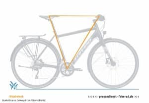 Sitzdreieck Geometrie E-Bike