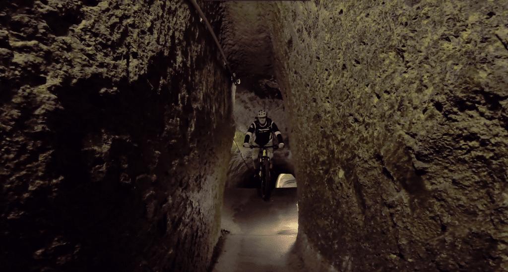 Tunnelsystems von Neapel