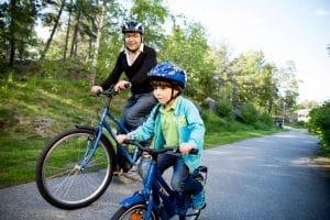 Mit dem E-Bike in Schweden