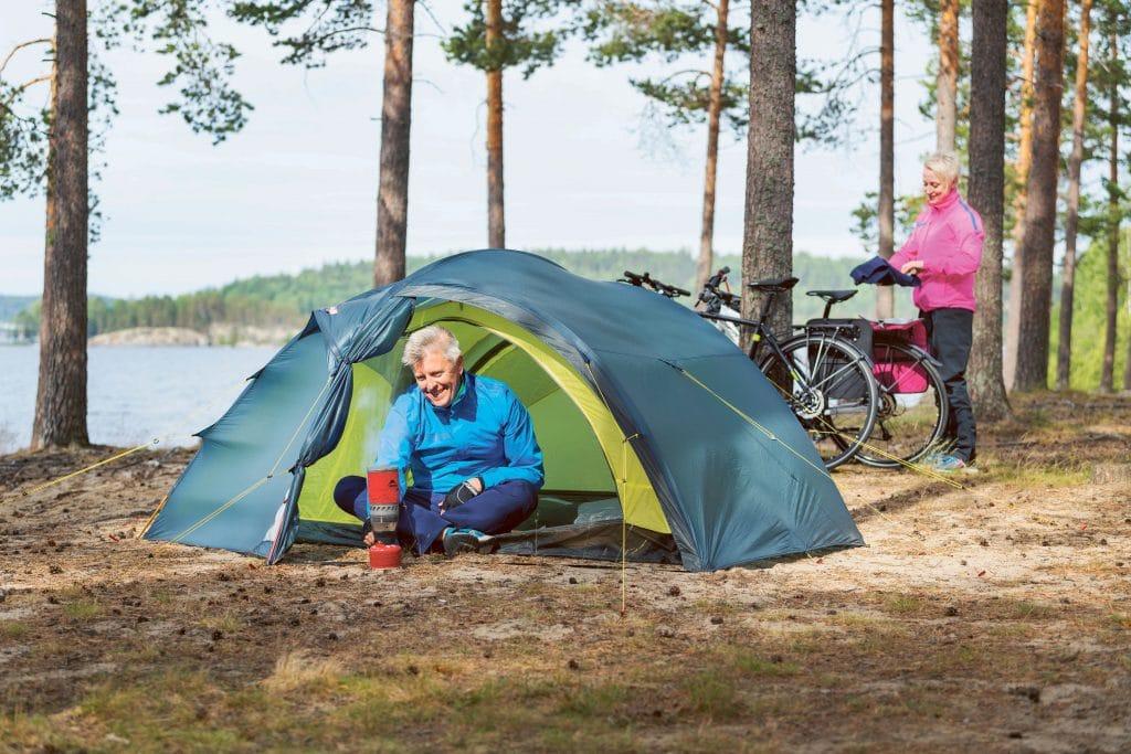 Camping in Schweden
