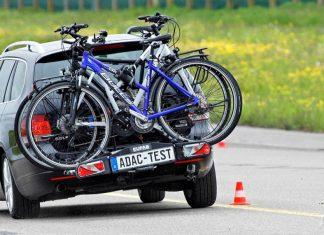 Fahrradträger für die Anhängerkupplung