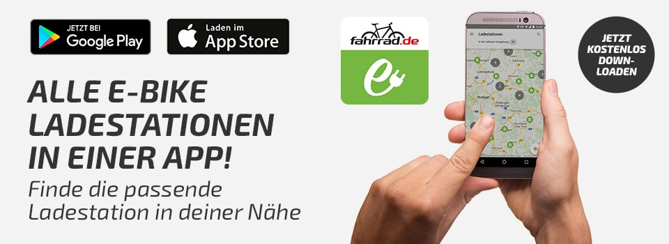 E-Bike Ladestation finden