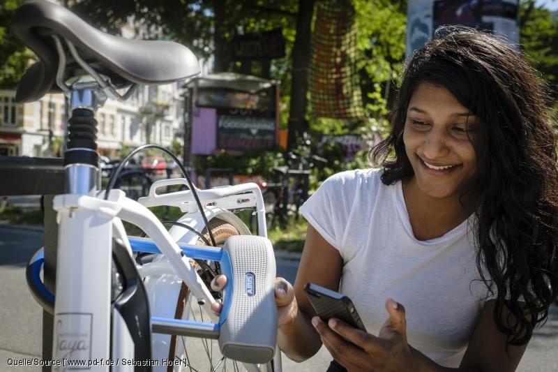 Fahrradloss mit App
