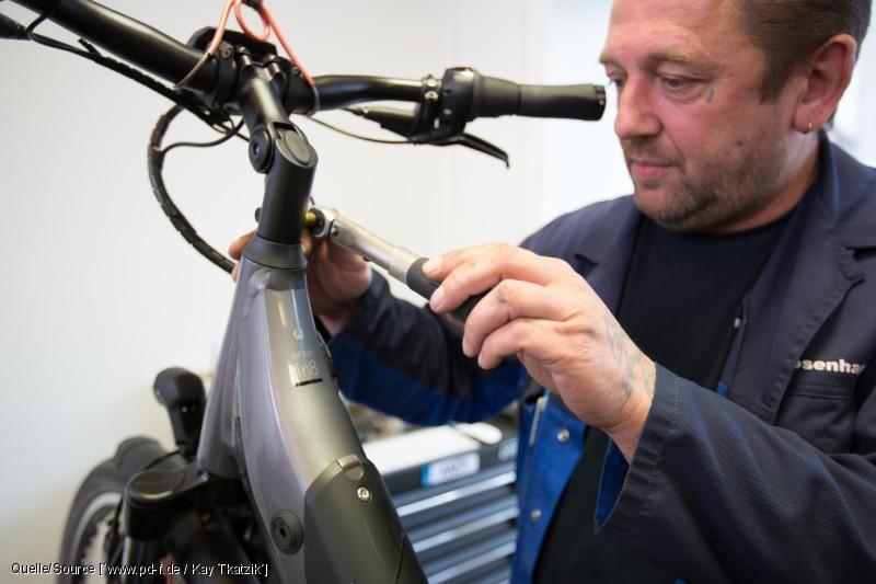 Wartung E-Bike Händler