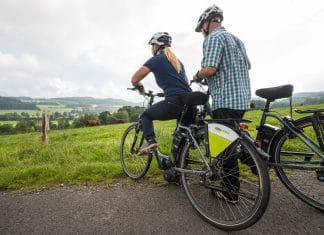 Mit dem E-Bike den Nister-Radweg erfahren