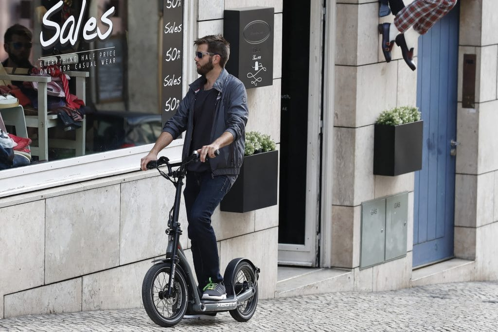 e-Scooter BMW x2City