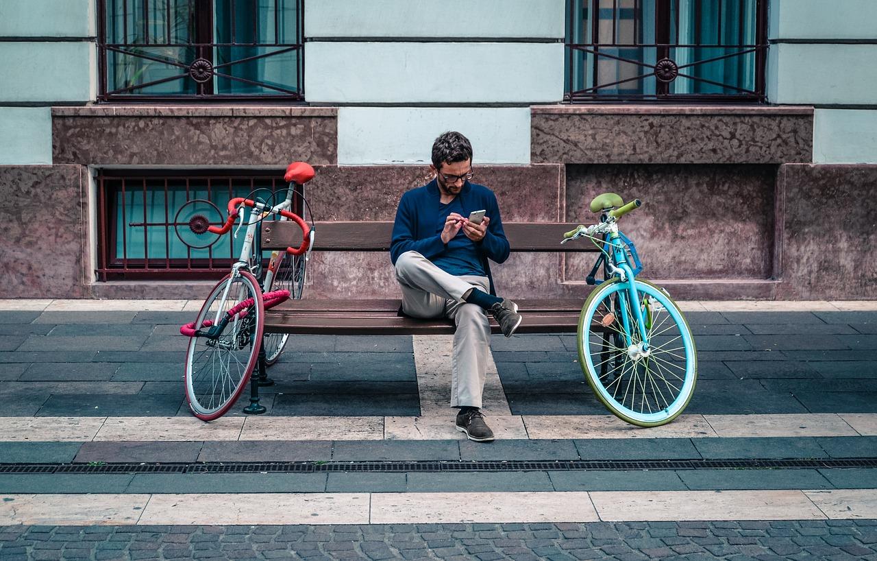 Handyverbot beim Radfahren