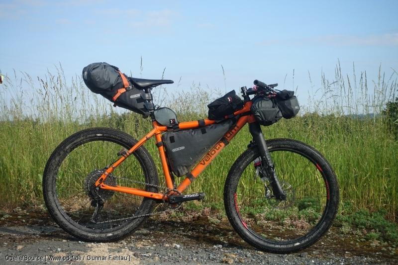 Bikepacking für unabhängige Radreisen