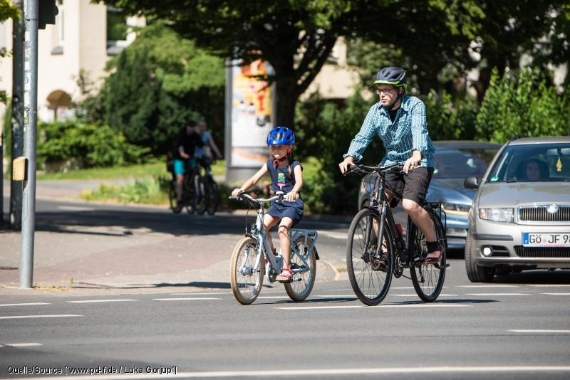Regelmäßiges Radfahren hält uns gesund