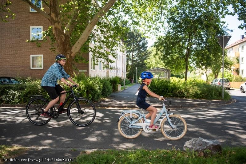 Fahrradfahren stärkt Herz und Kreislauf