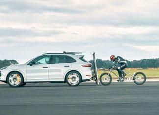 Neuer Fahrrad-Geschwindigkeitsrekord für Männer