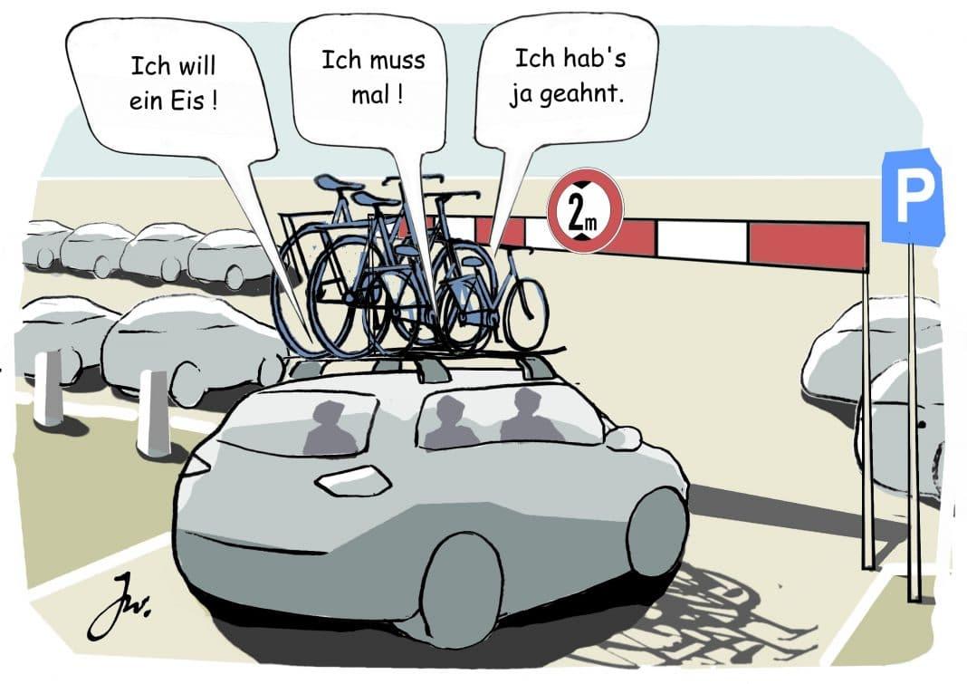 Fahrrad-Transport