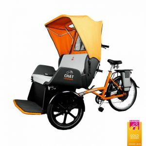 GOLD AWARD WINNER – Chat Rikscha Transportfahrrad