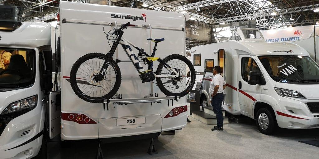 Heckträger Wohnmobil E-Bike