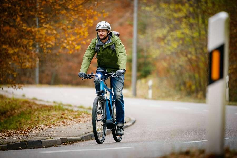 E-Bike im Winter