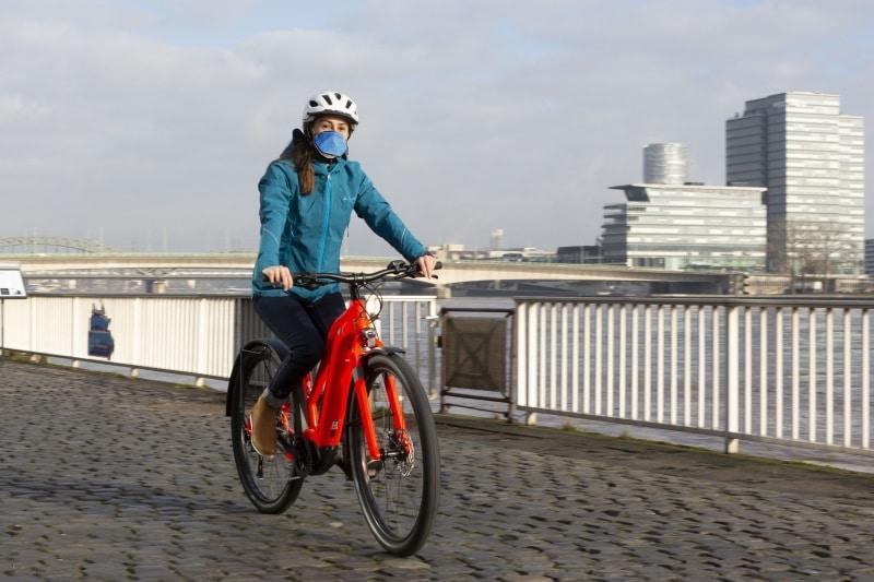 COVID19 Corona Biker