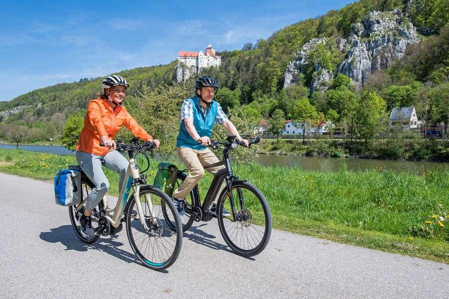 Radfahrerlebnis an fünf Flüssen