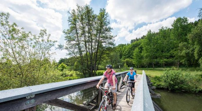 Radtour an Donau, Altmühl, Pegnitz, Vils und Naab
