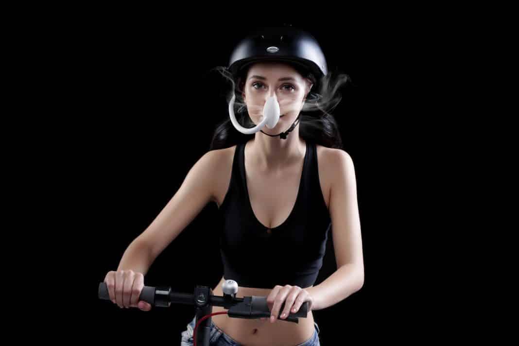 Iwind: Luftreiniger für Radfahrer