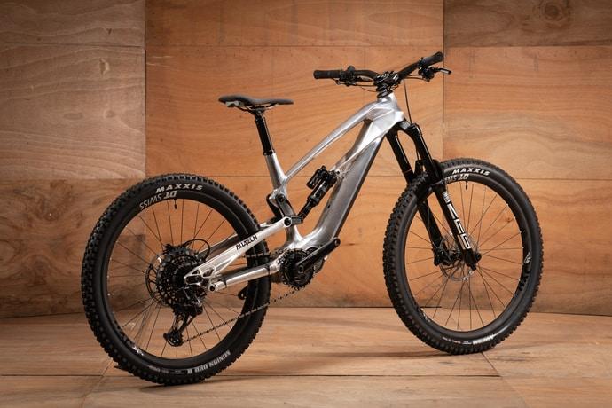 Bike aus dem Alu-Block