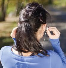 Musik hören beim Radfahren