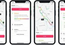 Umweltbewusste Navigation mit der Cowboy-App