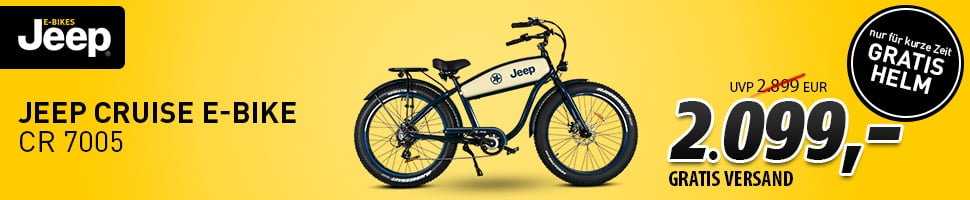 Einsteiger E-Bike Jeep Cruiser