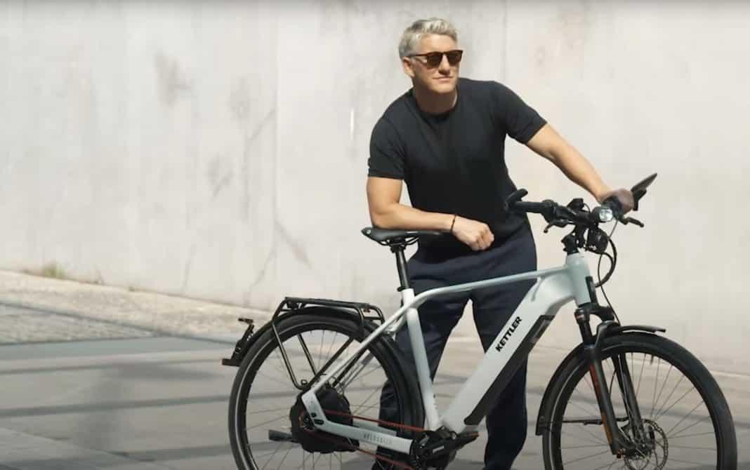 Bastian Schweinsteiger ist fasziniert von E-Bikes