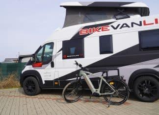 Mit dem Victoria eAdventure und CamperVan auf Ostsee-Tour