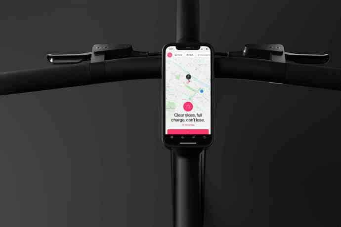 Integrierte Smartphone-Halterung
