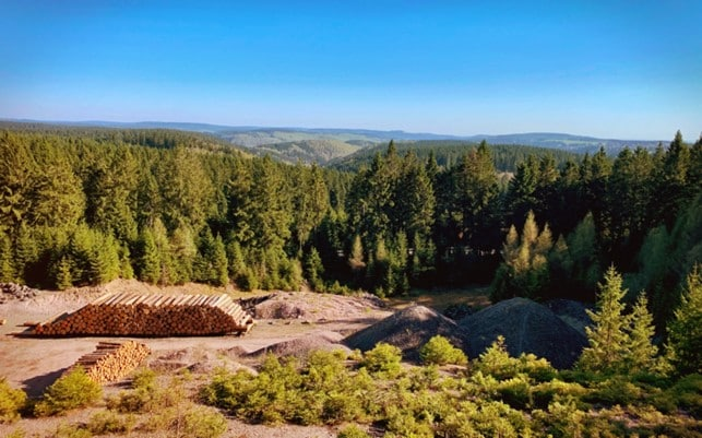 Thüringer Wald Radtour