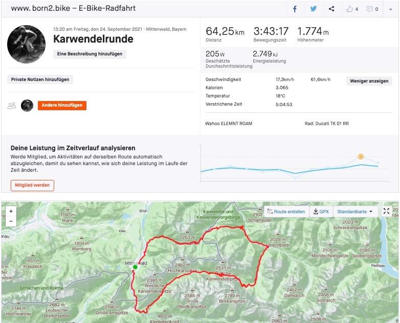 Reichweitentest Karwendelrunde